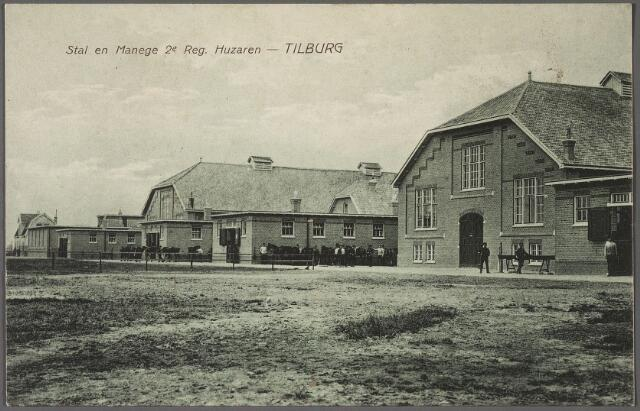010967 - stal en manege 2e regiment huzaren Kromhoutkazerne aan de Bredaseweg.