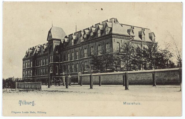 000138 - missiehuis van de missionarissen van het H. Hart aan de Bredaseweg