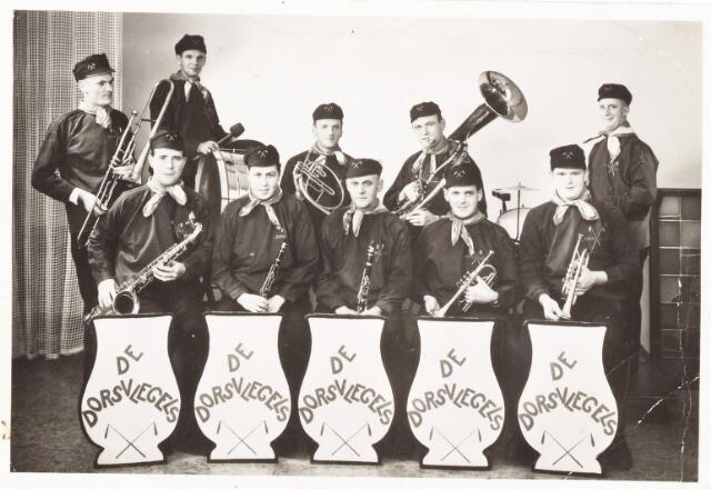 052649 - Muziekleven. Boerenkapel 'De Dorsvlegels'