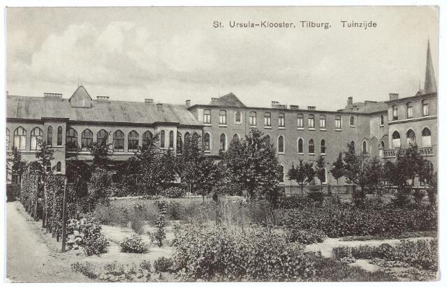 000401 - Tuin St. Ursulaklooster van de zusters Ursulinen aan de Elzenstraat.