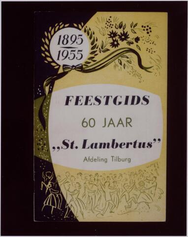 041239 - Vakbeweging. Jubileum. Feestgids van St. Lambertus Afdeling Tilburg ter gelegenheid van het zestigjaar bestaan als textielarbeidersbond.