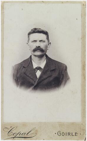 056405 - Slager Cornelis van Erven, geboren te Goirle op 2 februari 1875 en aldaar overleden op 8 december 1909. Hij trouwde met Adriana van Erven.