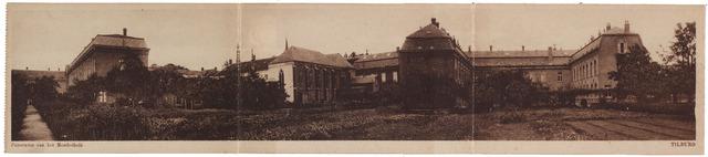001754 - Tuin en achterzijde van het kloostercomplex van de Zusters van Liefde van O.L.V. Moeder van Barmhartigheid aan de Oude Dijk.