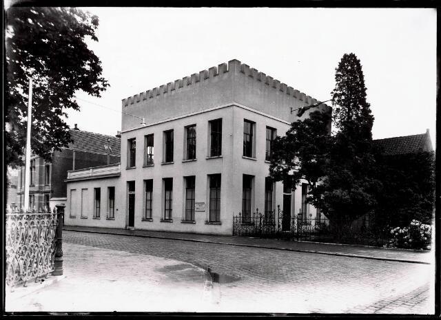 032262 - Natuurhistorich Museum aan de Paleisstraat, thans Stadhuisplein zie documentnummer 32261  Officiele opening
