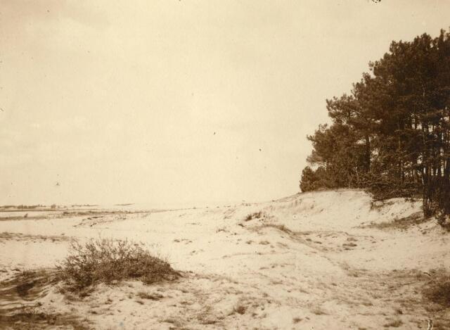 600768 - Landschap in de omgeving van Loon op Zand. Duinen en bossen.Kasteel Loon op Zand. Families Verheyen, Kolfschoten en Van Stratum