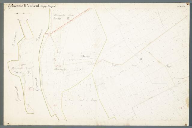 051004 - Kaart. Wegenkaart Udenhout