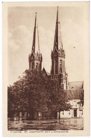 000969 - Kerk, pastorie en Lindeboom Heuvel.