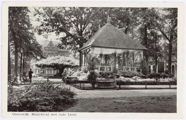 057467 - De Lind. De nieuwe kiosk door de gemeente in 1929 gebouwd ter vervanging van de oude.