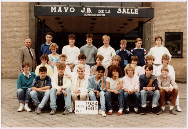 051717 - Middelbaar Voortgezet Onderwijs. MAVO St. Jean Baptiste de la Salle. klas 3b. Schooljaar 1984-1985