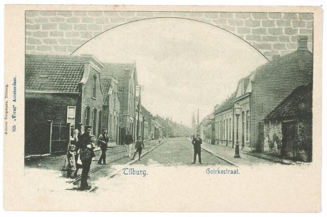 000619 - Goirkestraat, rechts smederij Van Moorsel.