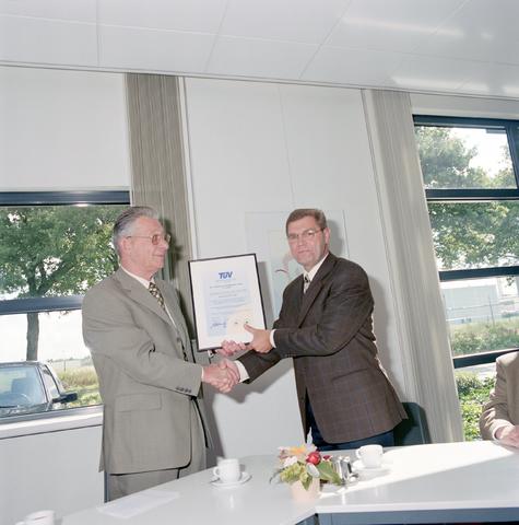 D-00705 - Certificering -  SMS Stamp Tool & Mould Technologies B.V. Tilburg (tegenwoordig ART Group)