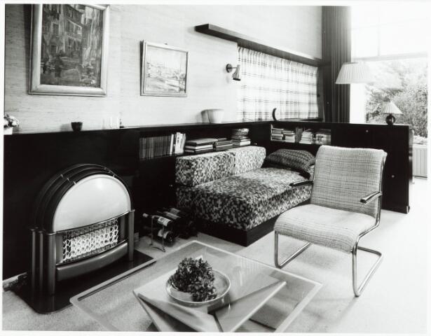 033673 - Woonkamer van architect S. Barenburg aan de Tuinstraat 108