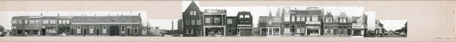 1625_0231 - Fotostrook; straatwand; panden aan de linten en hoofdverbindingswegen in het centrum van de stad; Piusstraat 42-162; foto's werden tussen 1976 en 1985 gemaakt. (foto gemaakt in periode 1976-1985)