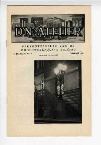 604316 - D´n Atelier, maandblad. Personeelsblad van de NS werkplaats te Tilburg.