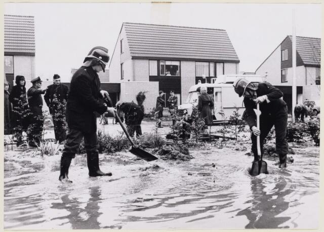 101463 - Wateroverlast in de Dommelbergen.