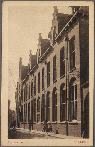 010749 - Het in 1910 gebouw post- en telegraafkantoor stond met de voorgevel aan de Telegraafstraat. De linkerzijgevel stond aan de Willem II-straat.