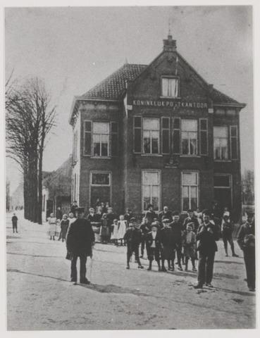 079361 - Het oude postkantoor voor de verbouwing in 1907.