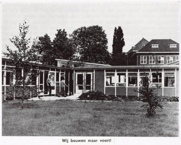 033316 - Hoger onderwijs. Bijgebouwen van de R.K. Leergangen aan de Tivolistraat.