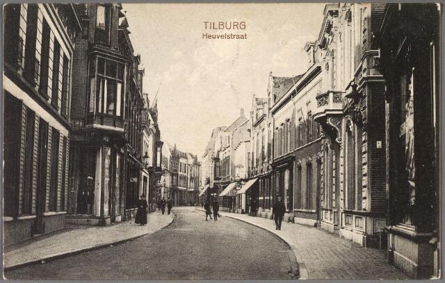 011158 - Heuvelstraat tussen Heuvel en Willem II-straat.