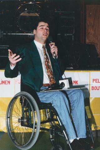 653080 - Tilburgs Sportgala. Sportman: René Martens (rolstoelbasketbal).