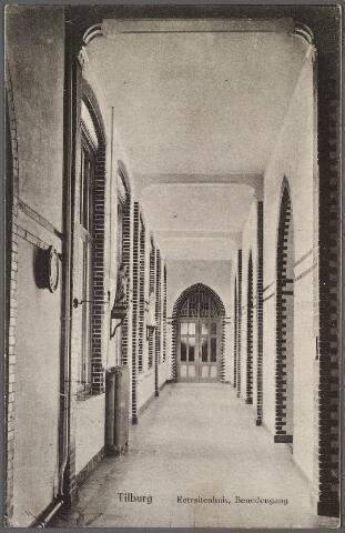 010958 - Benedengang in het retraitehuis het Cenakel aan de Koningshoeven, thans Kempenbaan.