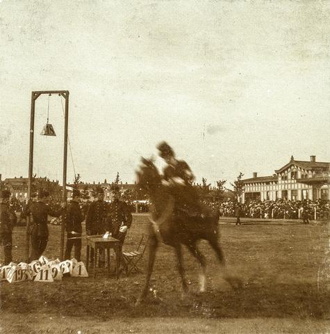 653549 - Den Bosch, concours hippique, paardensport. (Origineel is een stereofoto.)