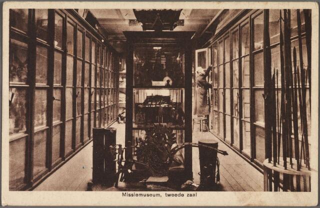 010151 - Tweede zaal van het missiemuseum van de kapucijnen in hun klooster aan de Korvelseweg.