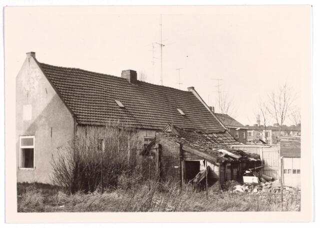 015723 - Achterzijde van de panden Bokhamerstraat 2 en 4