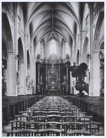 019608 - In 1933 werd in de Goirkese kerk de eerste geluidsinstallatie aangebracht door de firma Wolff
