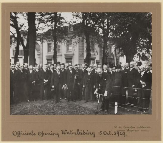 075485 - Oficiele opening Waterleiding te Oisterwijk op 15 october 1929.