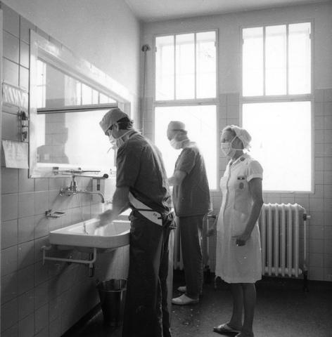 655834 - Elizabeth Ziekenhuis locatie Jan van Beverwijckstraat Tilburg in 1981.