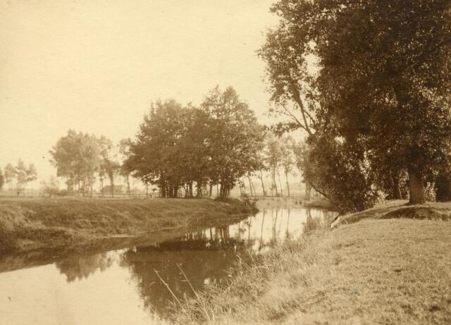 600770 - Landschap in de omgeving van Loon op Zand. Duinen en bossen.Kasteel Loon op Zand. Families Verheyen, Kolfschoten en Van Stratum