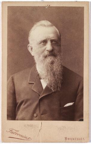 005963 - Portret Architect Hendrik van Tulder 1819-1903.