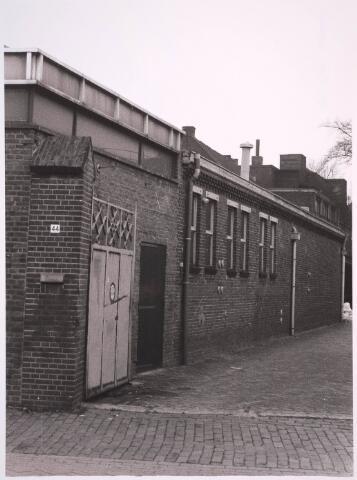030893 - De Schoolstraat. Kaardenfabriek.