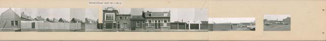 1625_0243 - Fotostrook; straatwand; panden aan de linten en hoofdverbindingswegen in het centrum van de stad; Roggestraat 4-54