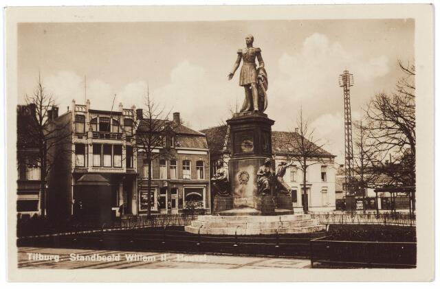 000990 - Standbeeld koning Willem II op de Heuvel.