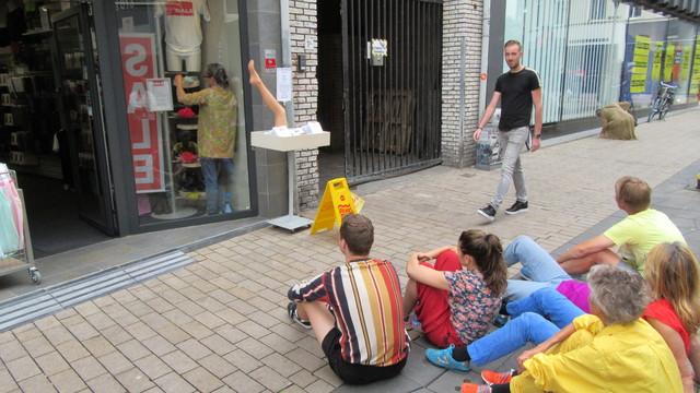 658436 - Kunst in de openbare ruimte. De tweede editie van Tilburg Kaapstad in augustus 2019. De Tilburgse binnenstad wordt een weekend lang gekaapt door kunstenaars.