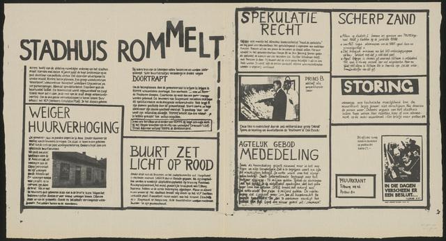 668_1980_046 - Muurkrant: Stadhuis rommelt