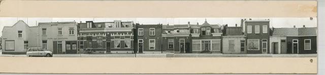 1625_0258 - Fotostrook; straatwand; panden aan de linten en hoofdverbindingswegen in het centrum van de stad; Sint Annastraat 1-69