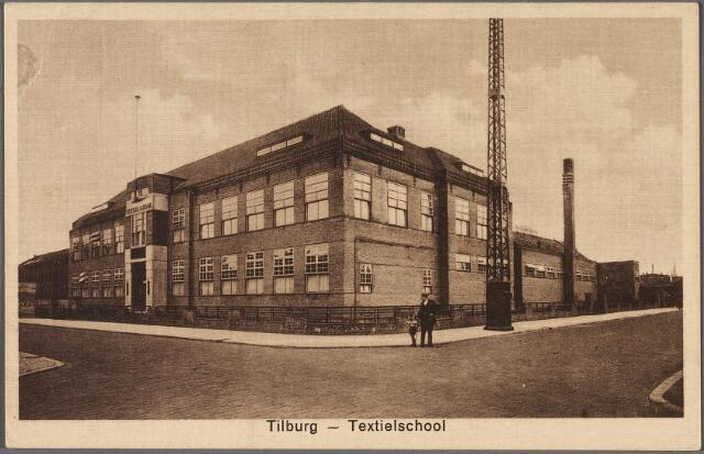 011144 - Textielschool aan de Lange Schijfstraat, nu Noordhoekring.