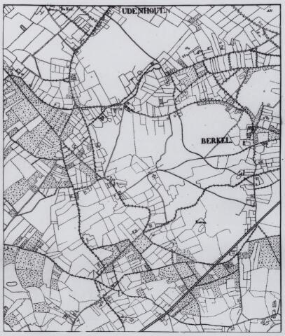 049197 - Kaart. Berkel-Enschot en Udenhout.
