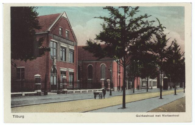 000601 - Goirkestraat met Mariaschool.
