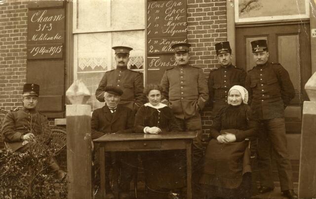 600465 - Mobilisatie 1914 - 1915.