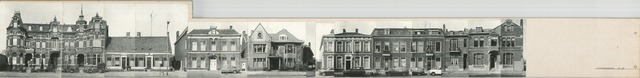 1625_0293 - Fotostrook; straatwand; panden aan de linten en hoofdverbindingswegen in het centrum van de stad;