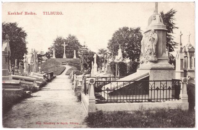 000106 - Graven en Calvarieberg op het kerkhof aan de Bredaseweg.