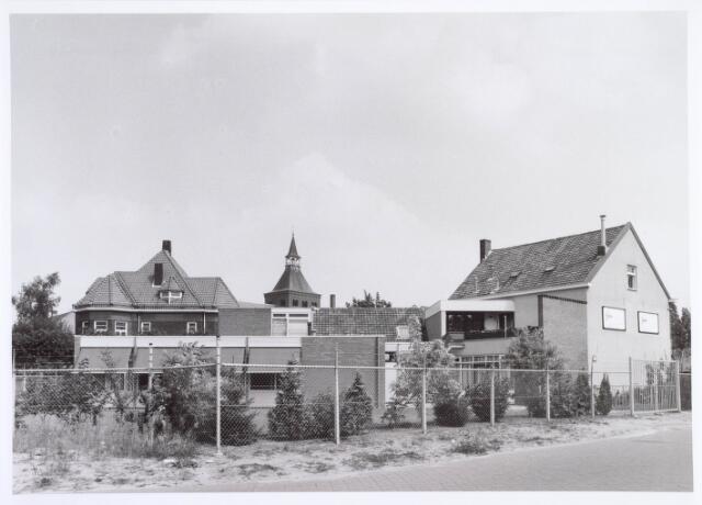 019426 - Achterzijde van panden aan de Goirkestraat, bezien vanuit de (nieuwe) Kasteeldreef
