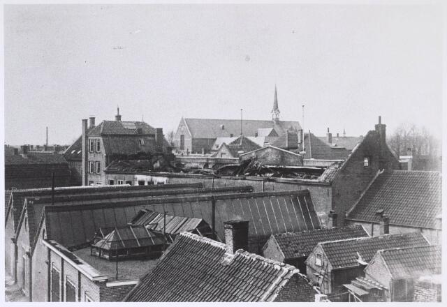024681 - Omstreeks 1930 brak er brand uit bij schoenfabriek Van Arendonk aan de Korvelseweg