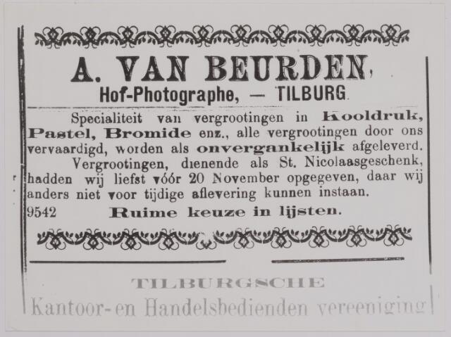 040167 - Advertentie van fotograaf van Beurden