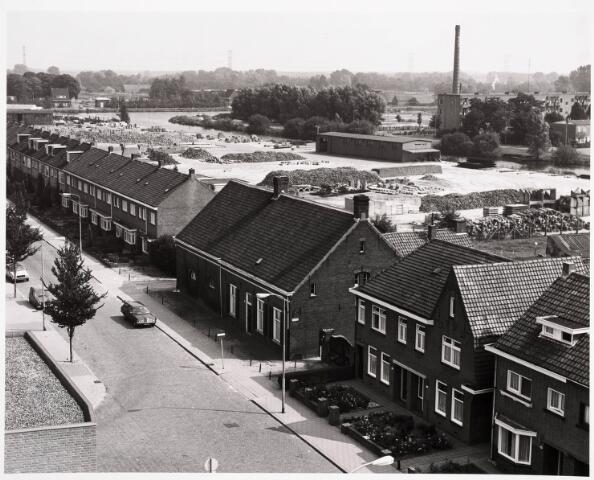 036288 - Panorama vanuit schoolgebouw scholengemeenschap St. Dionysius aan Ringbaan-Oost op de Oisterwijksebaan