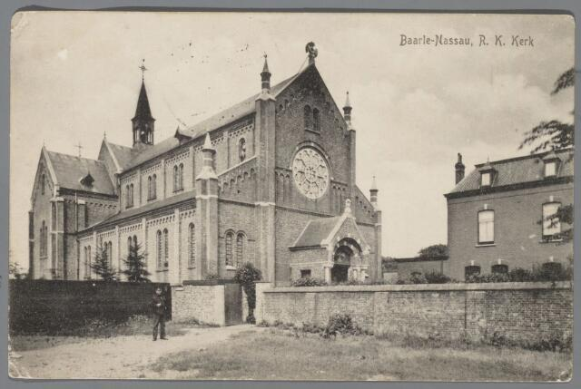065549 - Rooms Katholieke Kerk van Onze Lieve Vrouw van Altijddurende Bijstand; later werd deze kerk verbouwd met als architect Jac. van Groenendael